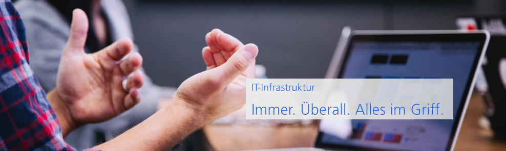Header neu IT Infrastruktur